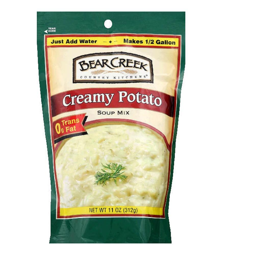 Bear Creek Country Kitchen Potato Soup Mix 11 oz Creamy