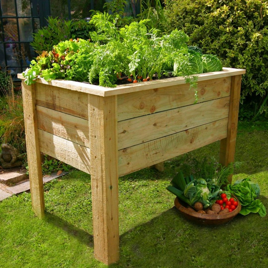 10 Raised Garden Bed Plans For Seniors in 2020 (With
