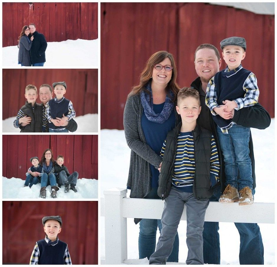 Boise Family Photography Winter Session!  The snow makes for a super fun session.  Yeah, it could get cold but with a thermos of hot chocolate, who cares :-)