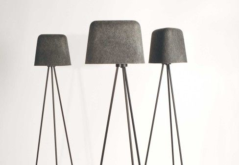 Felt Shade Floor Version By Tom Dixon Standing Lamps Design At Stylepark Tom Dixon Lamp Design Standing Lamp