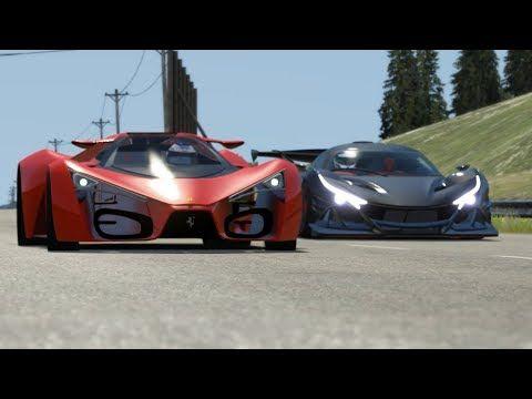 Ferrari F80 Concept vs Supercars at Highlands