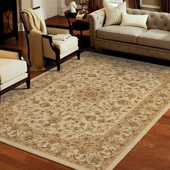 8x12 359 99 Classic Antiquity Olefin Machine Made Rug Collection Cameron Bisque Rugs Machine Made Rugs Beige Carpet