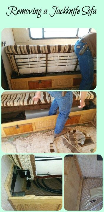Glamping DIY How to Remove Your Jack Knife Sofa Here is your