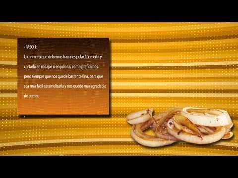 ▶ cebolla caramelizada - YouTube