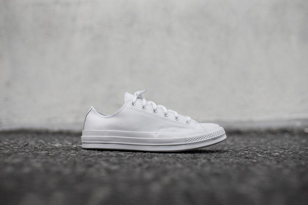 73859f10462 Converse Chuck Taylor All Star '70 Mono Low - Triple White | Shoes ...