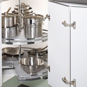 Kitchen Pan Storage | Carousel Kitchen Storage