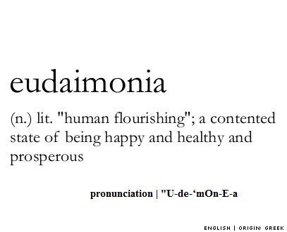 Eudaimonia | WAM! Words are Ma...