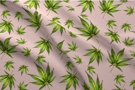 Pin By Pure Fluff Co On Cbd Fluff Inspo For Photography Spoonflower Fabric Hemp Leaf Printing On Fabric