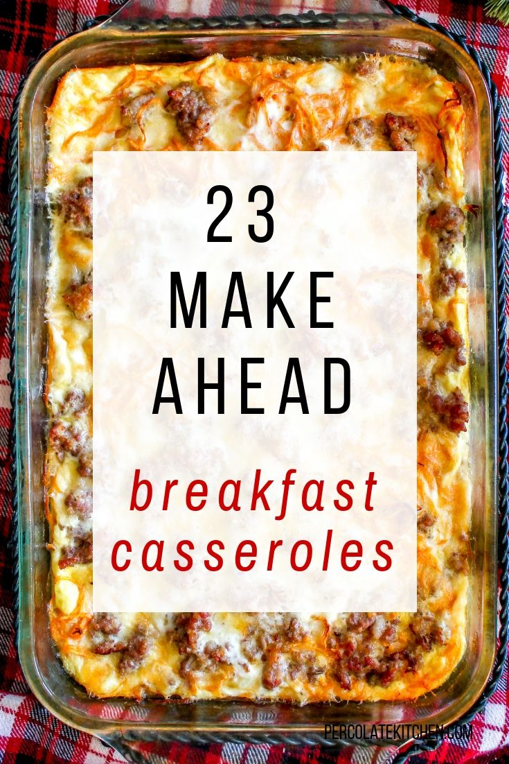 23 Make Ahead Breakfast Casseroles images