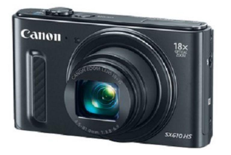 Best WIFI enabled point and shoot cameras of 2017 (Pictured Canon PowerShot SX610 HS)