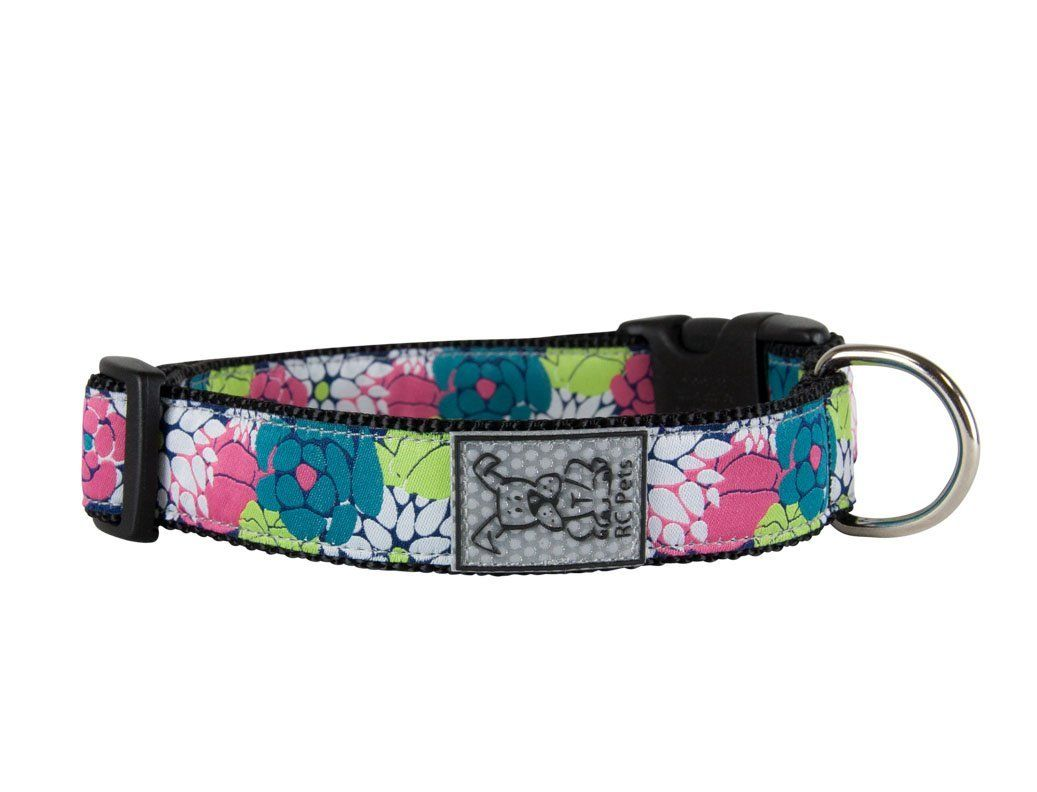 Rc Pet Products Adjustable Dog Clip Collar Full Bloom Want