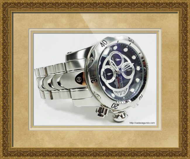 #Invicta #Reserve #Venom A07 Valgranges #Swiss #Automatic #Chronograph #Watch. Runs with Swiss #ETA A07.211 Valgranges Automatic Chronograph Movement, 25 Jewels. // Classical Baroque