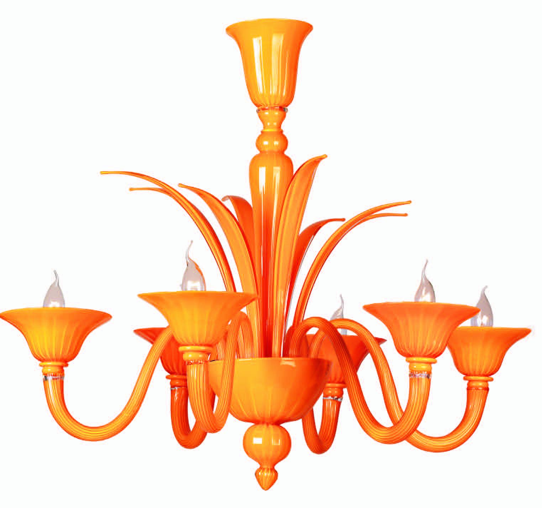 en finish by van brandvanegmond chandelier whitebackground product orange stylepark conical egmond copper kelp brand