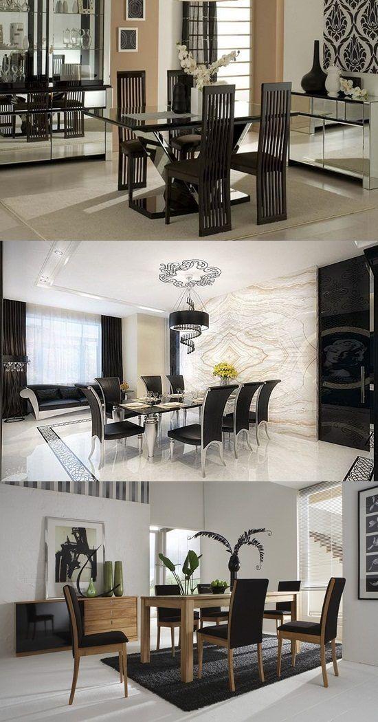 Modern Dining Room Decor Modern Dining Room