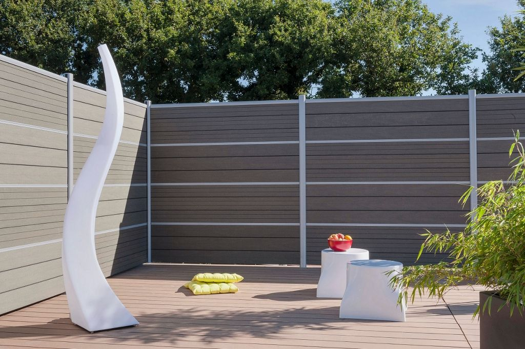 Emejing Haie De Jardin En Pvc Photos - House Design ...