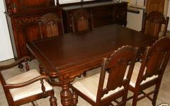 Amusing Antiques Dining Room Sets