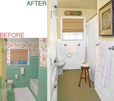 1950s bathroom remodel tips - 1950s Bathroom Remodel Before And After