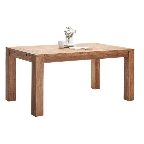 Dieser Esstisch Besticht Durch Seinen Besonders Natürlichen Look Im  Landhausdesign. Der Geradlinig Gestaltete Tisch Besteht