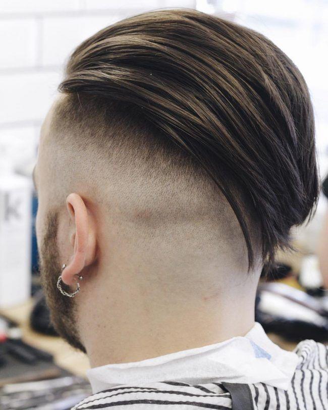 Slicked Back Cortes En V In 2019 Hair Styles Hair Cuts