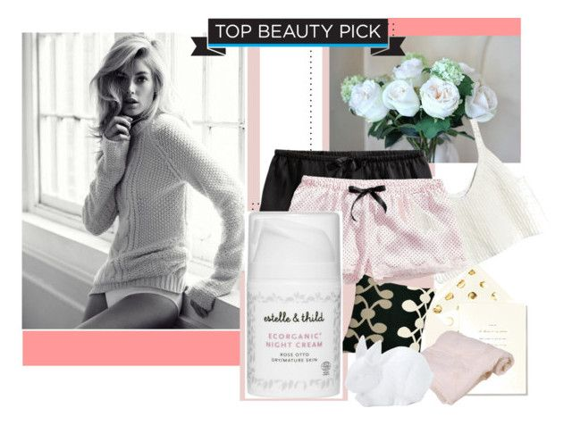 """""""Ecorganic"""" by lushxoxo ❤ liked on Polyvore featuring beauty, Kate Spade, Judy Ross, H&M, Estelle & Thild, Forever 21, Beauty, pastels and beautyproducts"""