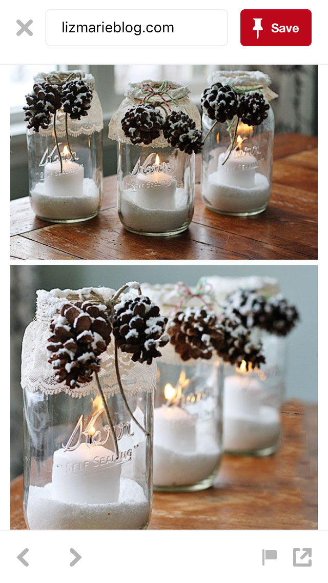 Swell Pin By Sarah Akers On Winter Decorating Christmas Jars Home Interior And Landscaping Mentranervesignezvosmurscom