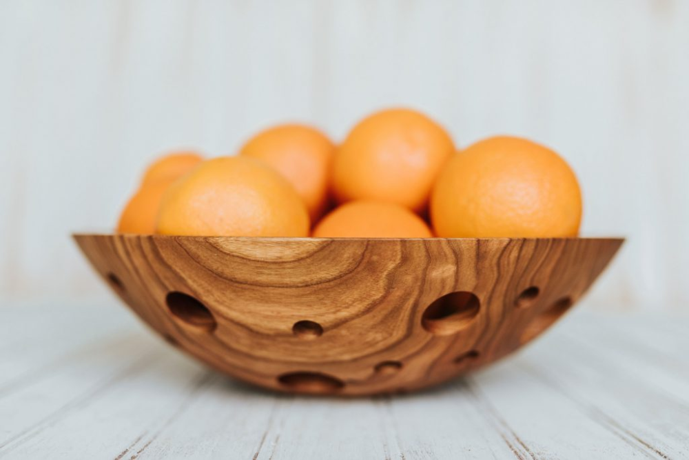 one of a kind wood bowls 12 inch cherry fruit bowls holland bowl mill in 2020 cherry fruit cherry bowl wooden salad bowl pinterest