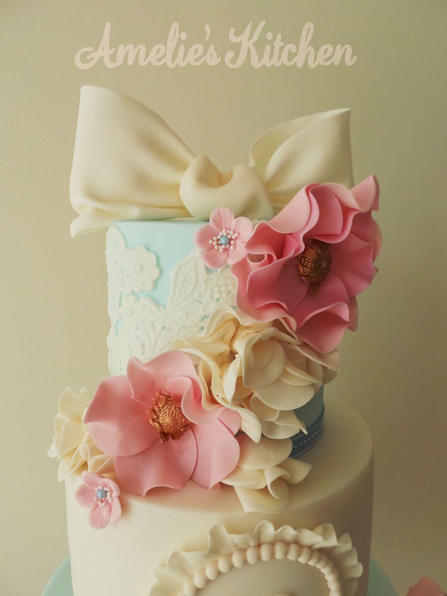 Vintage 18th Birthday Cake Yumii Pinterest 18th Birthday Cake