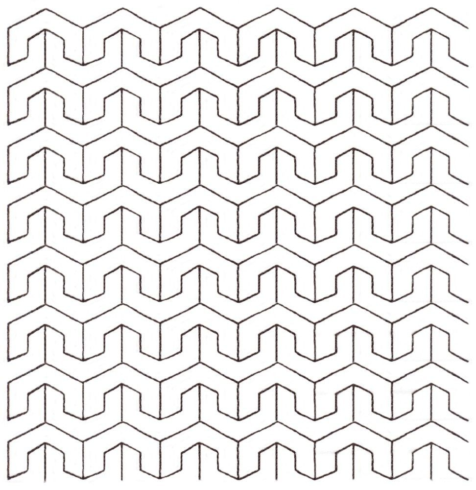Continuous Line Quilting Patterns Free Downloads Interesting Ideas