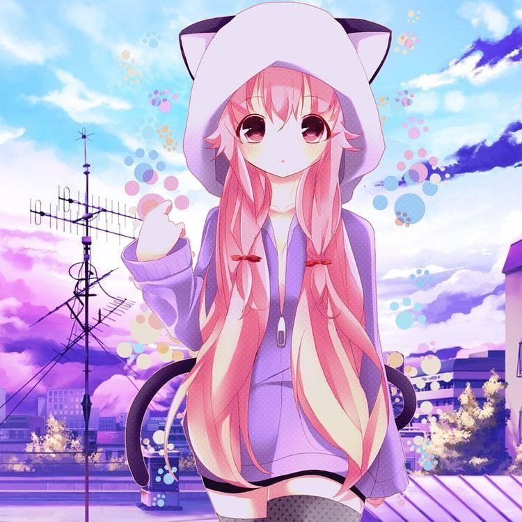 Mirai Nikki Yuno Mask By Digitalaurora Anime Anime Background Mirai Nikki
