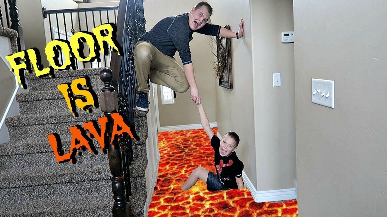 The Floor Is Lava With Uncle Derek The Floor Is Lava Lava Flooring