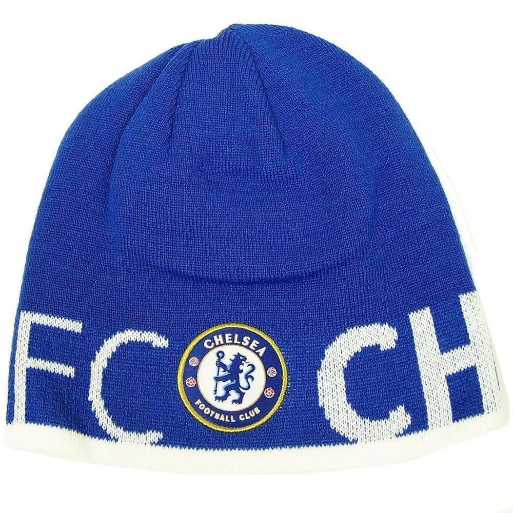 Chelsea FC Reversible Knitted Hat