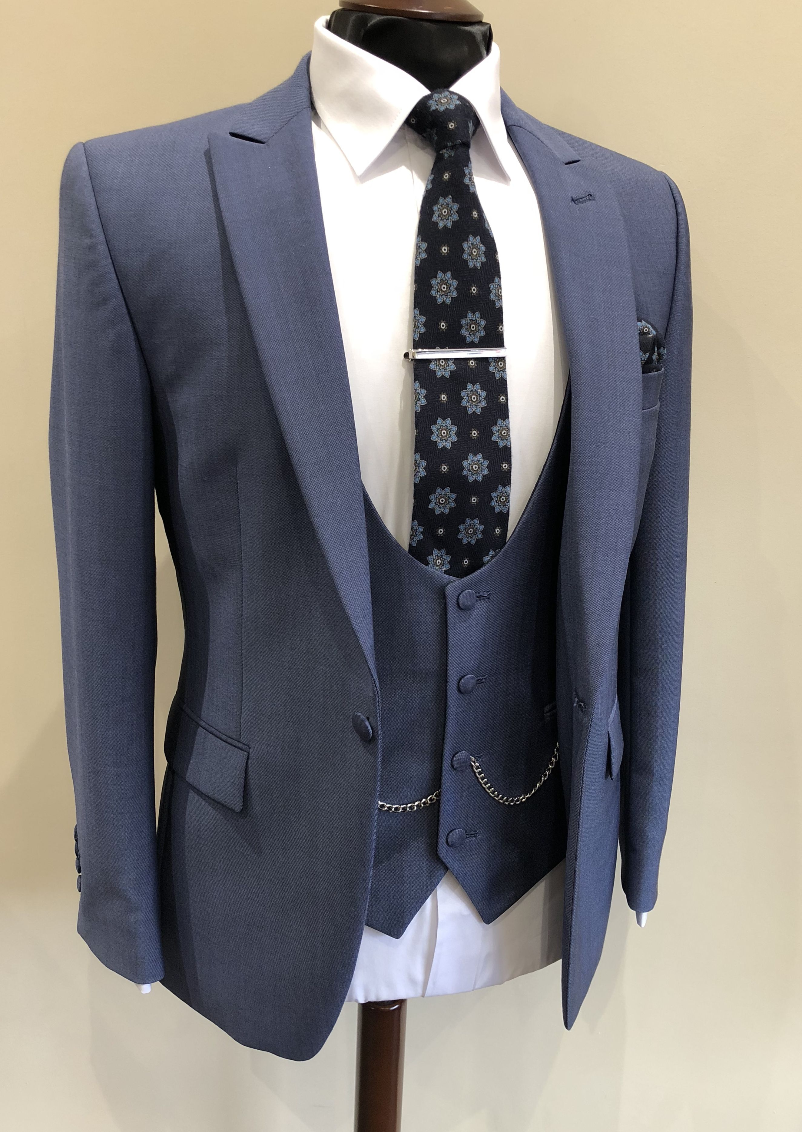 Airforce Blue Wedding Suit Summer Wedding Groom suit