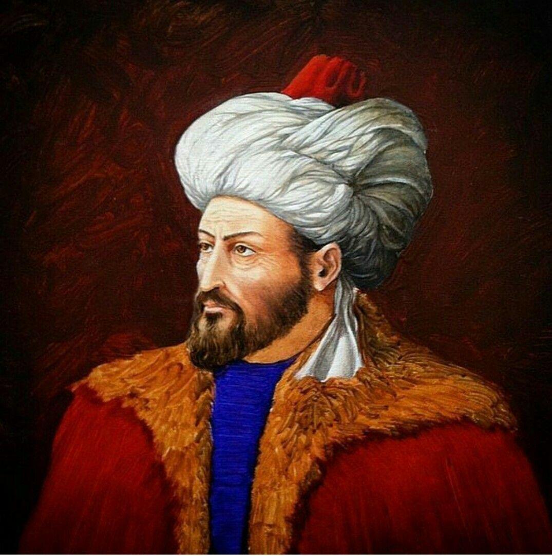 İranlı bir ressam tarafından yeniden düzenlenilerek çizilmiş Fatih ...