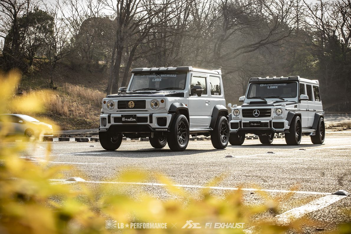 Fi Exhaust High Performance System Is The Wildest In The Aftermarket Bring Fi Exhaust Powerful Sound On Your Off Road Adven Suzuki Jimny G Class Mercedes Benz