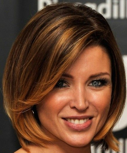 Pin on Short Hair for Round Faces
