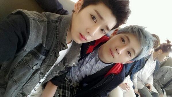 Kidoh 키도 and Seogoong 서궁 of Topp Dogg 탑독