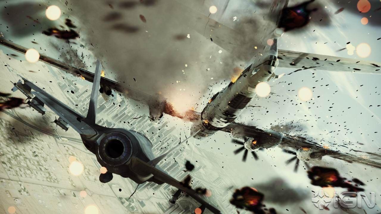 Ace Combat Lightning Struck Bear Ace Combat Assault Horizon