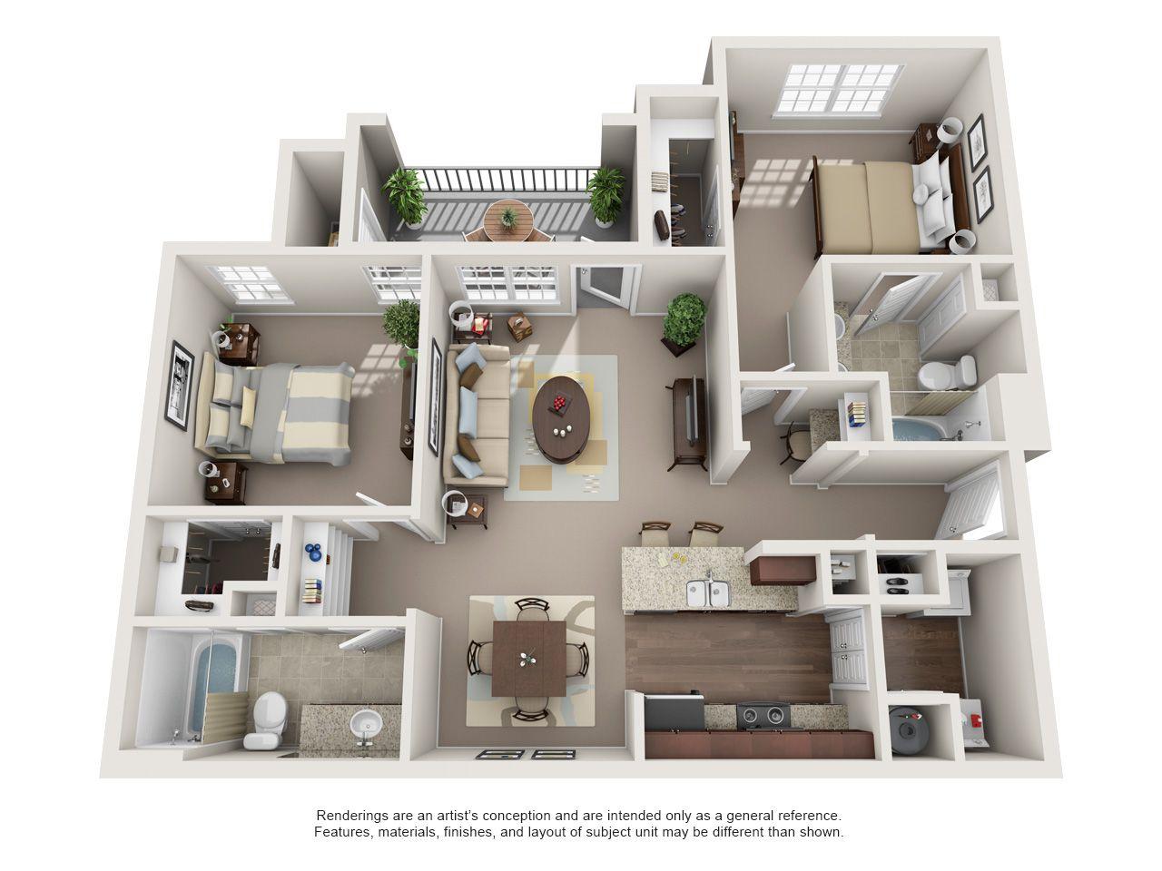 The Shores B2 Apartment Layout Apartment Floor Plan Apartment Floor Plans