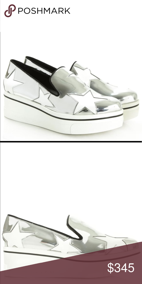136c50287d2 STELLA MCCARTNEY Star Binx Metallic Platform Check out this fab New Season  style by Stella McCartney