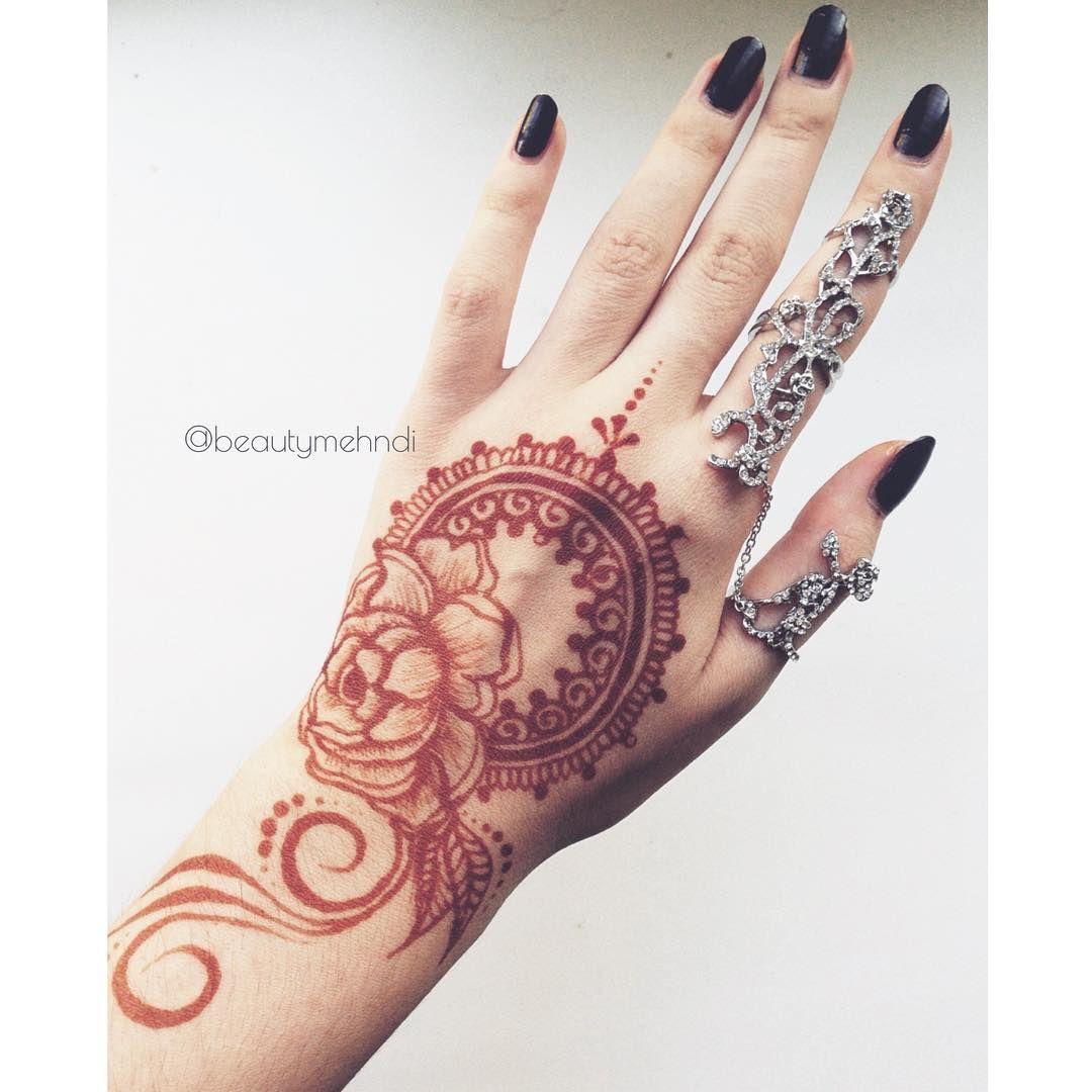 Rose Henna Designs For Hands Valoblogi Com