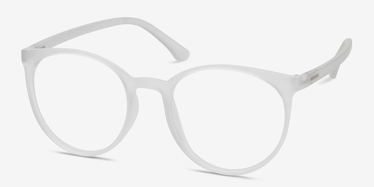 Portrait Matte Clear Plastic Eyeglasses from EyeBuyDirect. Come and ...