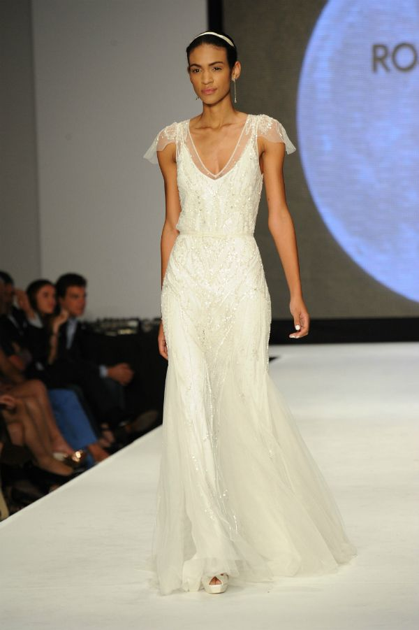 Vestidos de novia Rosa Clará 2014 #bodas #vestidos | Vestidos de ...
