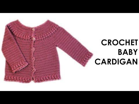 YouTube | chaquetas crochet | Pinterest | Häkeln, Häkeln crochet und ...