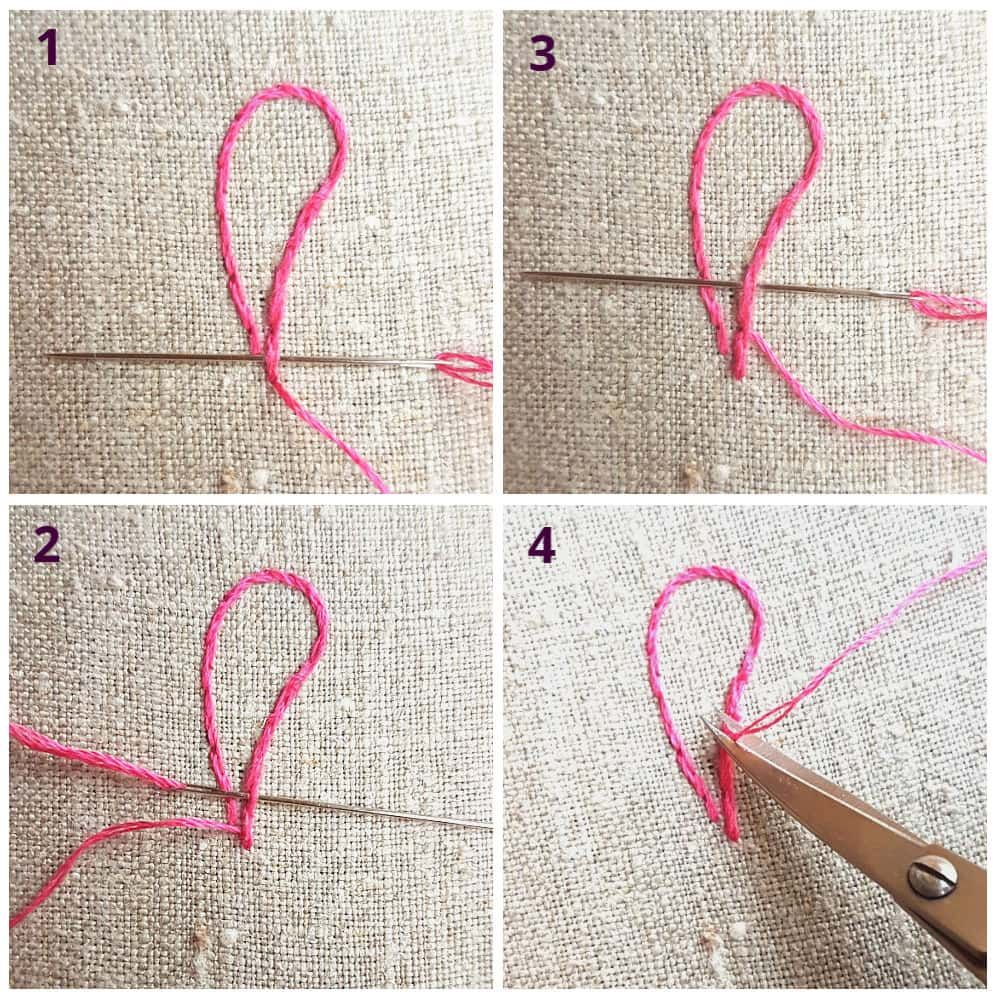 How To Start And Finish Your Embroidery Thread Basic