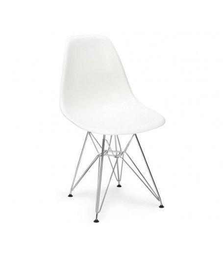 Phenomenal Charles Ray Eames Style Dsr Side Chair White White Eames Onthecornerstone Fun Painted Chair Ideas Images Onthecornerstoneorg