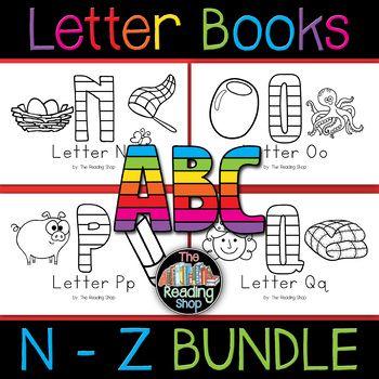 Letter N To Z Letter Books Bundlen O P Q R