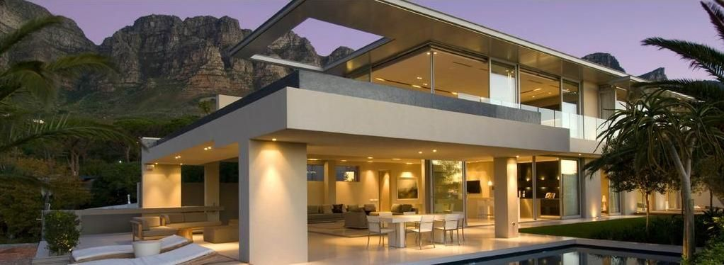 Modern house design of dramatic concept and minimalist Modern villa plan