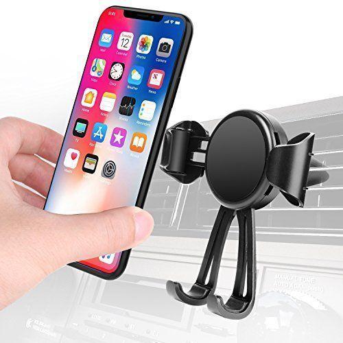 handyhalterung auto air vent kfz halterung universal f r iphone x 8 plus 7 plus 6 6s plus. Black Bedroom Furniture Sets. Home Design Ideas