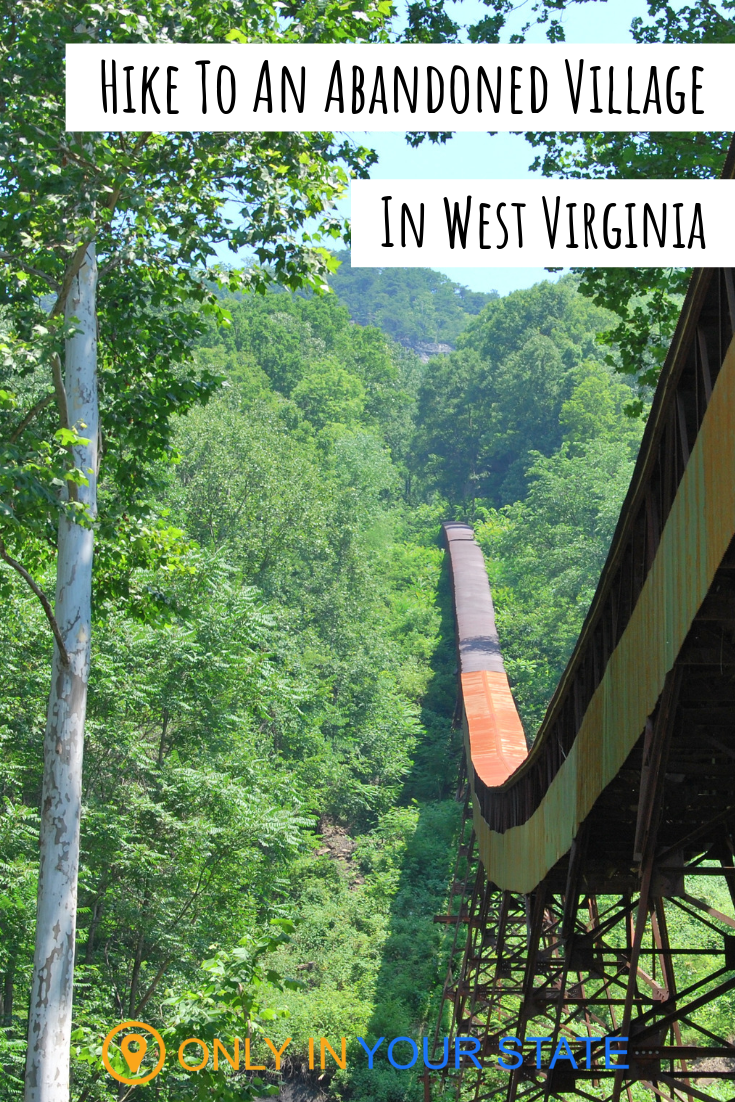 There's A Hike In West Virginia That Leads You Straight To An Abandoned Town #westvirginia