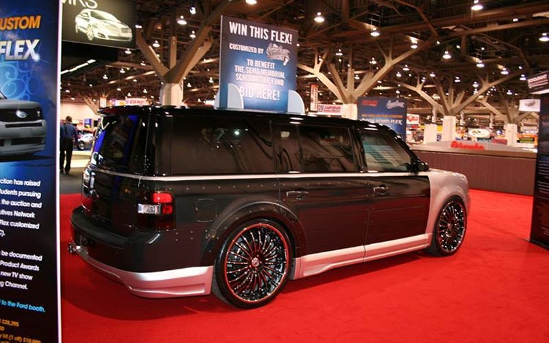 Ford Flex Hot Wheels  Ec D B Ec  B Ec   Eb F   Eb D   Eb A E Ec D   Ea B  Ec D   Ed   Ec   Ed   Ec  B Ec A  ___sema_z_ford_flex_by_west